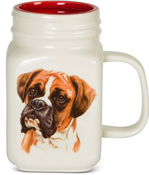 Boxer by Waggy Dogz - 21 oz Mug