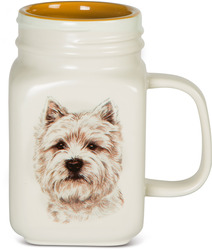 West Highland Terrier by Waggy Dogz - 21 oz Mug