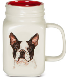 Boston Terrier by Waggy Dogz - 21 oz Mug