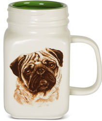 Pug by Waggy Dogz - 21 oz Mug
