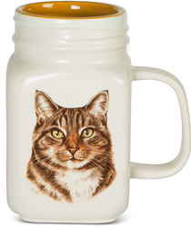 Tabby Cat by Waggy Dogz - 21 oz Mug