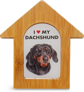 "Dachshund by Waggy Dogz - 3.5"" Self-Standing Magnet"