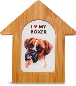 "Boxer by Waggy Dogz - 3.5"" Self-Standing Magnet"