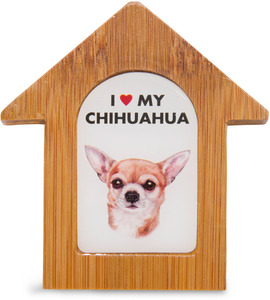 "Chihuahua by Waggy Dogz - 3.5"" Self-Standing Magnet"