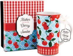 Mother by You & Me by Jessie Steele - Kitchen Cherry 12oz Mug