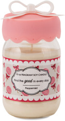 Find the Good in Every Day by You & Me by Jessie Steele - 10 oz Soy Jar Candle  Peppermint Scent