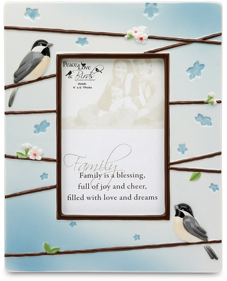 "Family by Peace Love & Birds - Family - 8"" x 10"" Picture Frame"