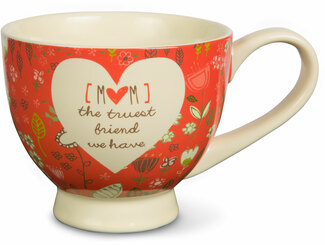 Mom by A Mother's Love by AmyL - 17oz Ceramic Cup