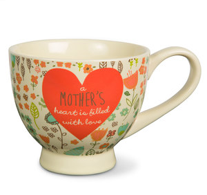 Mother by A Mother's Love by AmyL - 17oz Ceramic Cup