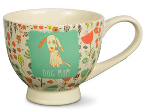 Dog Mom by A Mother's Love by AmyL - 17oz Ceramic Cup