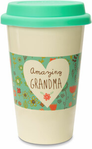 Grandma by A Mother's Love by AmyL - 12oz Ceramic Travel Mug