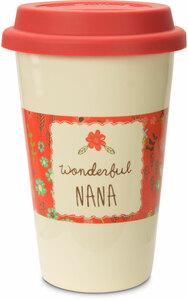 Nana by A Mother's Love by AmyL - 12oz Ceramic Travel Mug