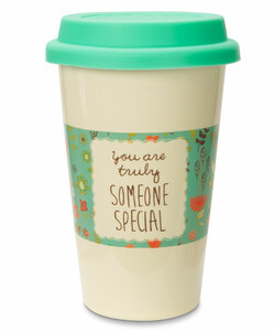 Someone Special by A Mother's Love by AmyL - 12oz Ceramic Travel Mug