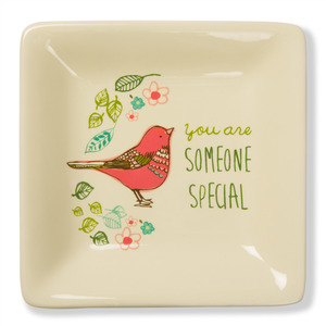 "Someone Special by A Mother's Love by AmyL - 4.5"" Ceramic Keepsake Dish"