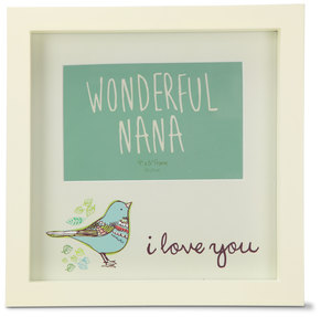 "Wonderful Nana by A Mother's Love by AmyL - 9"" x 9"" Frame"