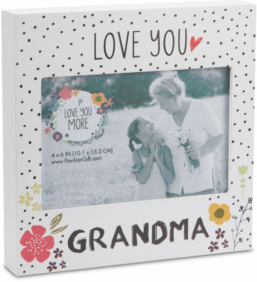 Grandma 7 Frame Holds 6 X 4 Photo Love You More Pavilion