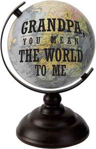 "Grandpa by Global Love - 9.5"" Decorative Globe"