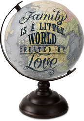 "Family by Global Love - 10.75"" Decorative Globe"