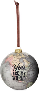 You are my World by Global Love - 100mm Earth Ornament