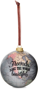 Friends by Global Love - 100mm Earth Ornament
