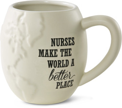 "Nurse by Global Love - 4.5"" - 22 oz. Mug"