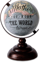 "Mother by Global Love - 9.5"" Decorative Globe"