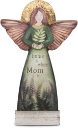 "Mom by Sherry Cook Studio - 11.5"" Self-Standing Angel"