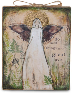 "Great Love by Sherry Cook Studio - 6.5"" x 5.25"" Plaque"