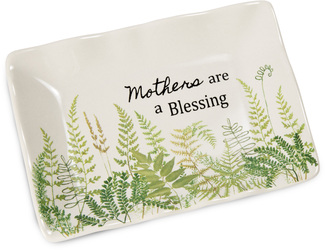 "Mother by Sherry Cook Studio - 5"" x 3.5"" Keepsake Dish"