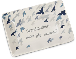 "Grandmother by Sherry Cook Studio - 5"" x 3.5"" Keepsake Dish"