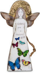 "Sister by Sherry Cook Studio - 5.5"" Angel  Ornament"