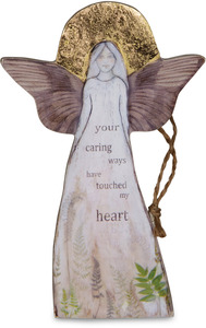 "Caring Ways by Sherry Cook Studio - 5.5"" Angel  Ornament"