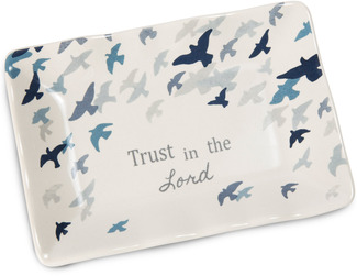 "Trust in the Lord by Sherry Cook Studio - 5"" x 3.5"" Keepsake Dish"