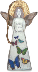 "Nana by Sherry Cook Studio - 5.25"" Butterfly Angel Ornament"