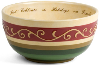 "Celebrate by Crimson Manor - 6.5""D x 3.75""H Bowl"
