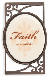 "Faith (set of 6) by Simply Stated - 1.5""Wx2.5""H Magnet w/Scroll"