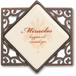 "Miracles (Set of 6) by Simply Stated - 2.25""Wx2""H Magnet w/Scroll"
