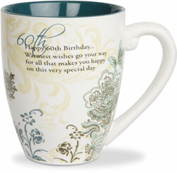 60th Birthday by Mark My Words -  17oz Mug