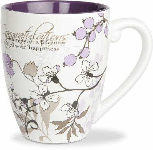 Congratulations by Mark My Words -  17oz Mug