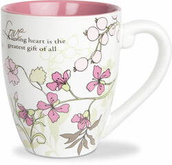 Love by Mark My Words -  17oz Mug