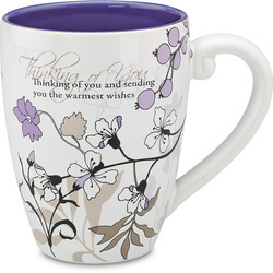 Thinking of You by Mark My Words -  17oz Mug