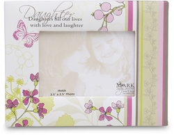 "Daughter by Mark My Words - 5.5""x4.25""Magnet Photo Frame"