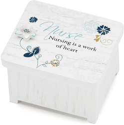 "Nurse by Mark My Words - 2"" x 1.75"" Keepsake Box"