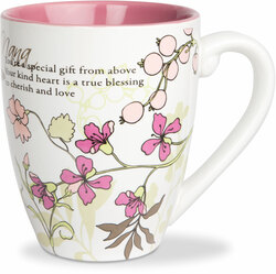 Nana by Mark My Words - 17oz Painted Quote Mug