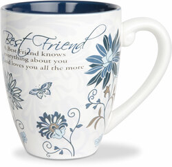 Best Friends by Mark My Words - 17oz Painted Quote Mug