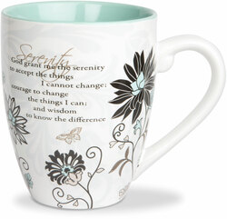 Serenity Prayer by Mark My Words -  17oz Mug