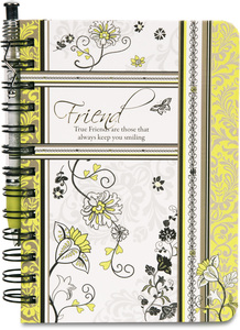 "True Friend by Mark My Words - 5"" x 7"" Journal and Pen Set"