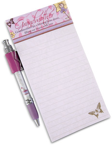 "Grandmother by Mark My Words - 4"" x 8"" Magnetic Notepad with Pen"