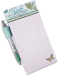 "Nurse by Mark My Words - 4"" x 8"" Magnetic Notepad with Pen"