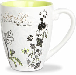 Love Life by Mark My Words -  17oz Mug